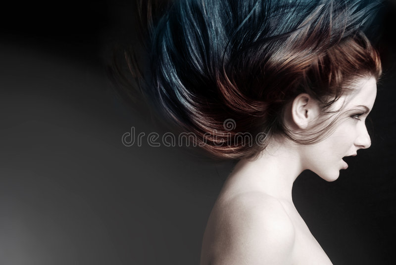 Download Crazy hair stock image. Image of girl, high, hairspray - 9172793