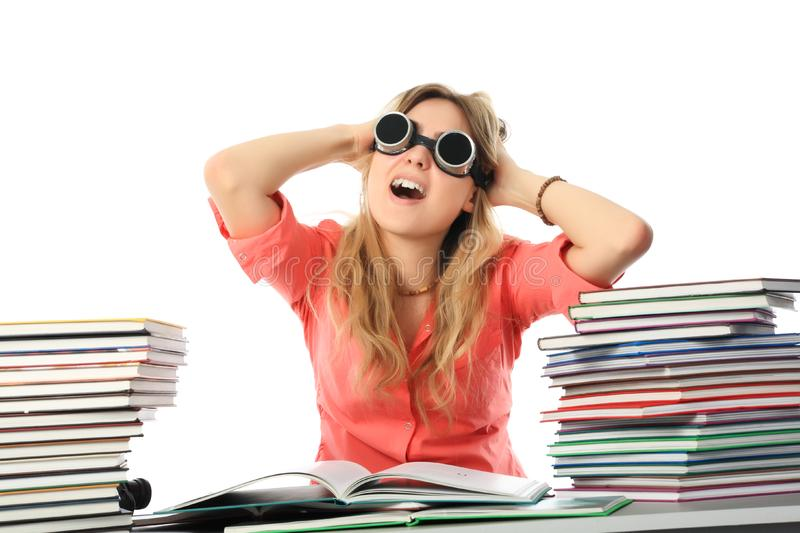 Download Crazy of knowledges stock image. Image of lecture, reader - 8950837