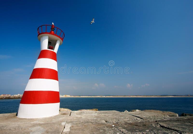 Crazy lighthouse stock photos