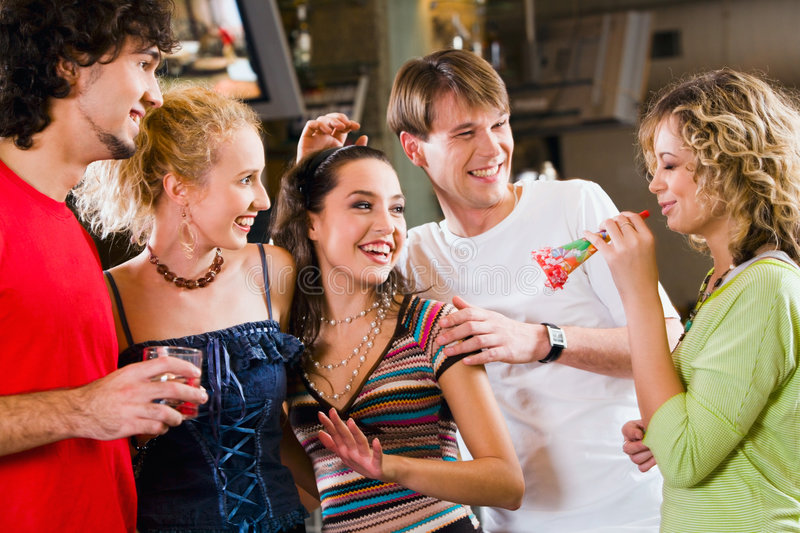 Download Crazy party stock image. Image of fashion, date, people - 3415839