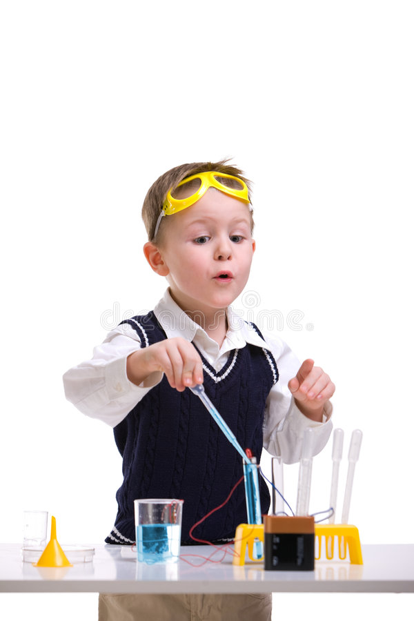 Download Crazy scientist stock image. Image of crazy, child, knowledge - 8317533