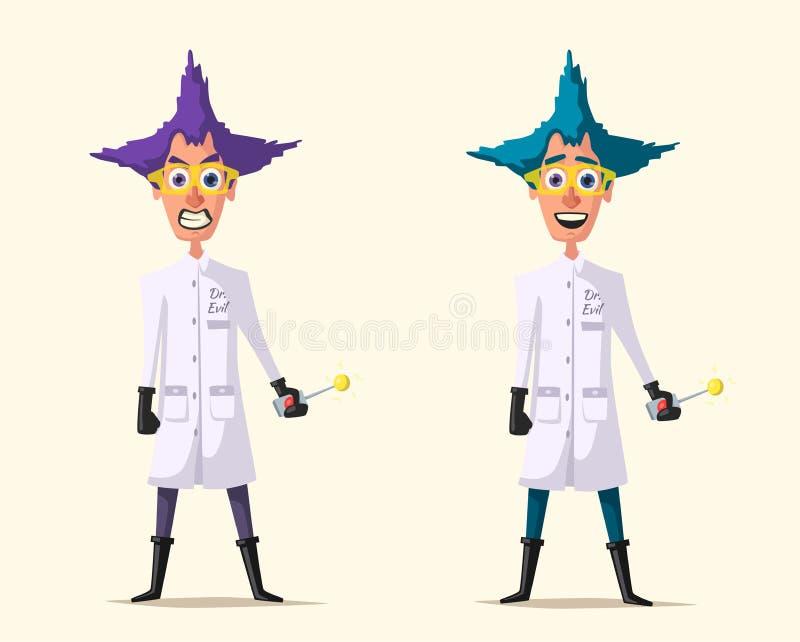 Mad Scientist Cartoon - Mad Scientist Clipart, HD Png Download ,  Transparent Png Image - PNGitem