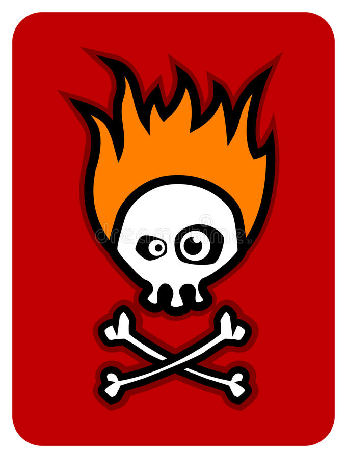 Free Crazy Scull Royalty Free Stock Photos - 16050328