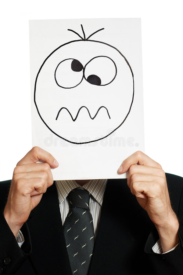 Download Crazy smile stock photo. Image of dizziness, mood, sentiments - 5274592