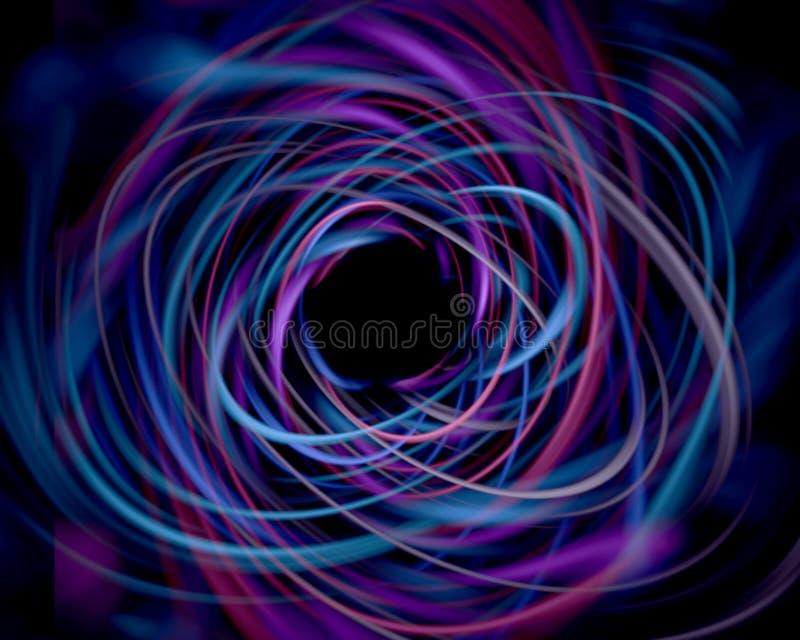 Crazy string vector illustration