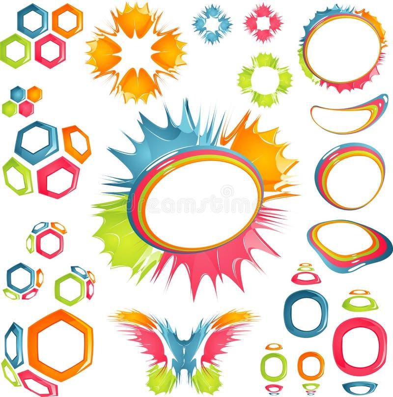 Crazy style stock vector. Illustration of logo, orange - 3917866