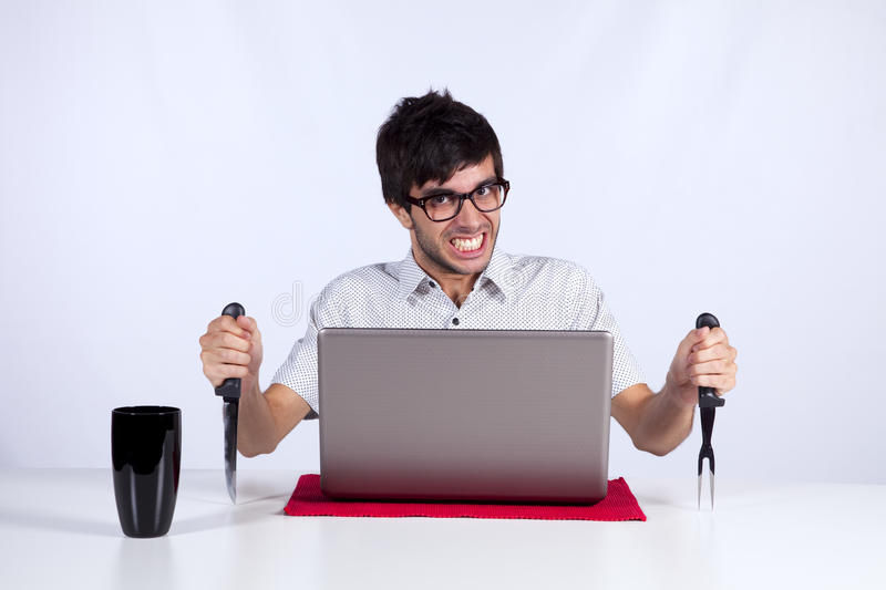 Download Crazy about technology stock photo. Image of computer - 16975892