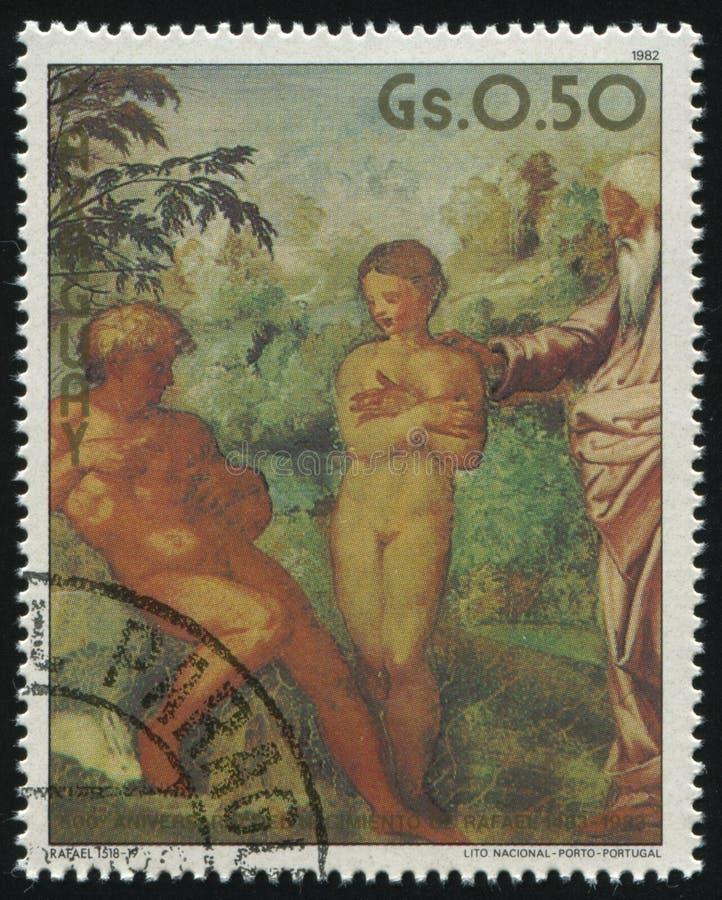 Creación de Eve por Raphael fotografía de archivo libre de regalías