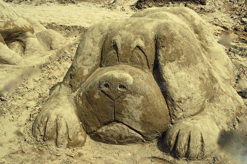 Creación de Sandy foto de archivo