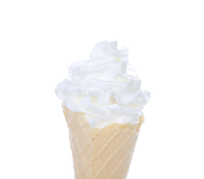 cream белизна льда стоковая фотография