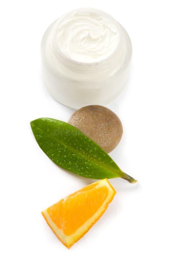 cream витамины стороны стоковая фотография rf