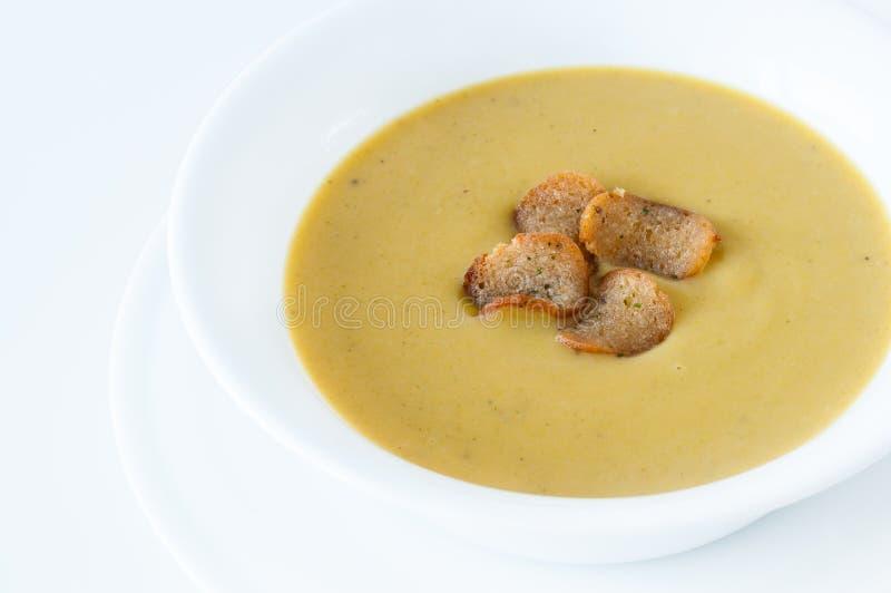 Cream крупный план супа стоковая фотография