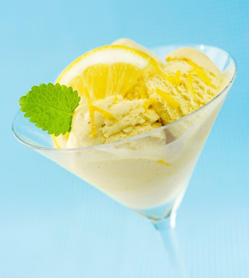 cream мята лимона льда стоковое изображение rf