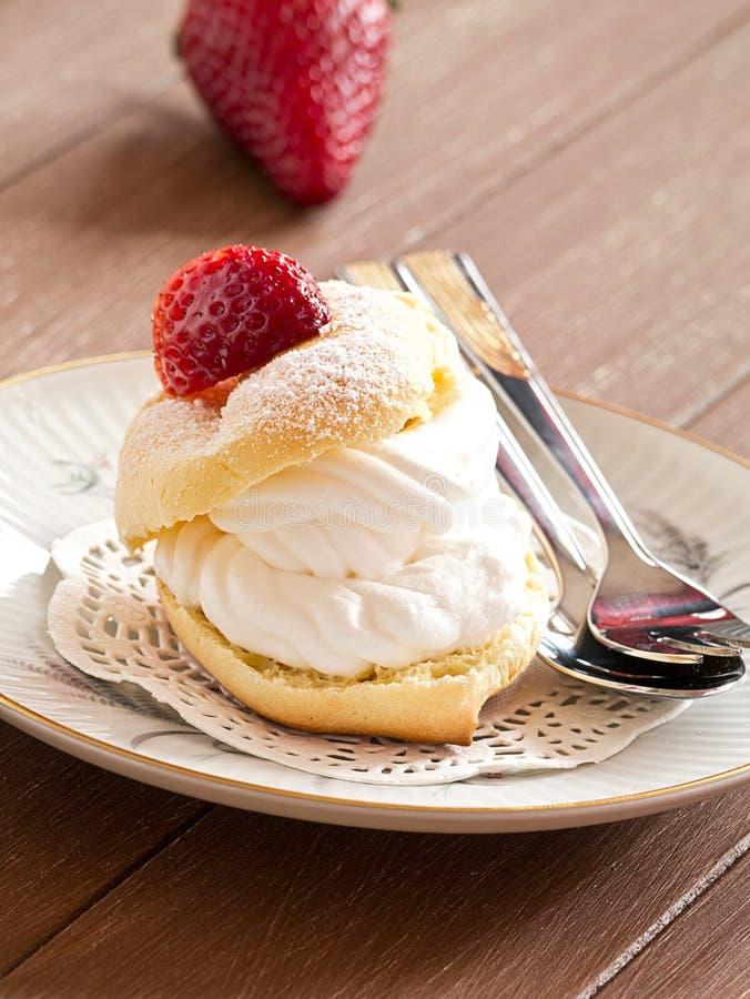 Cream слойка стоковое изображение