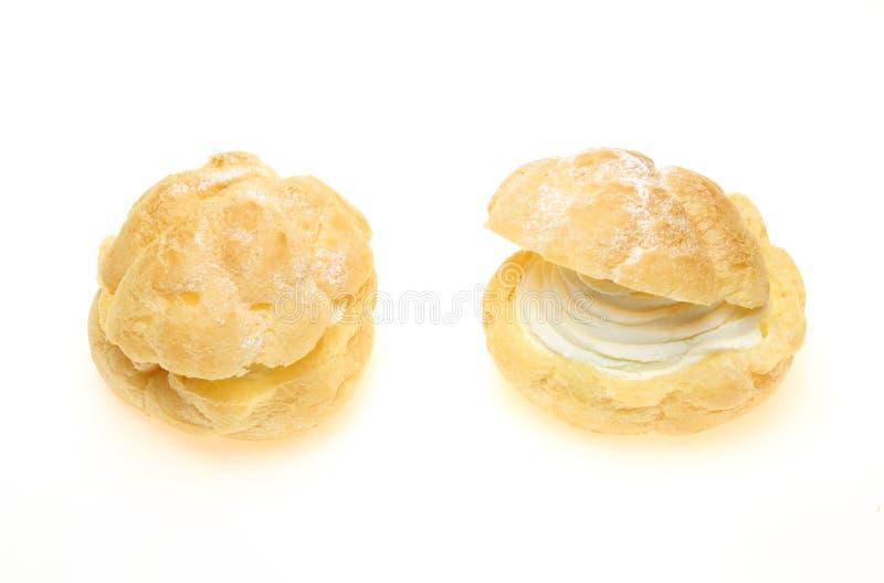 Cream слойка стоковая фотография rf