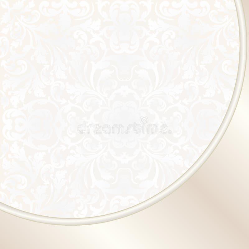 Cream Background Stock Photo