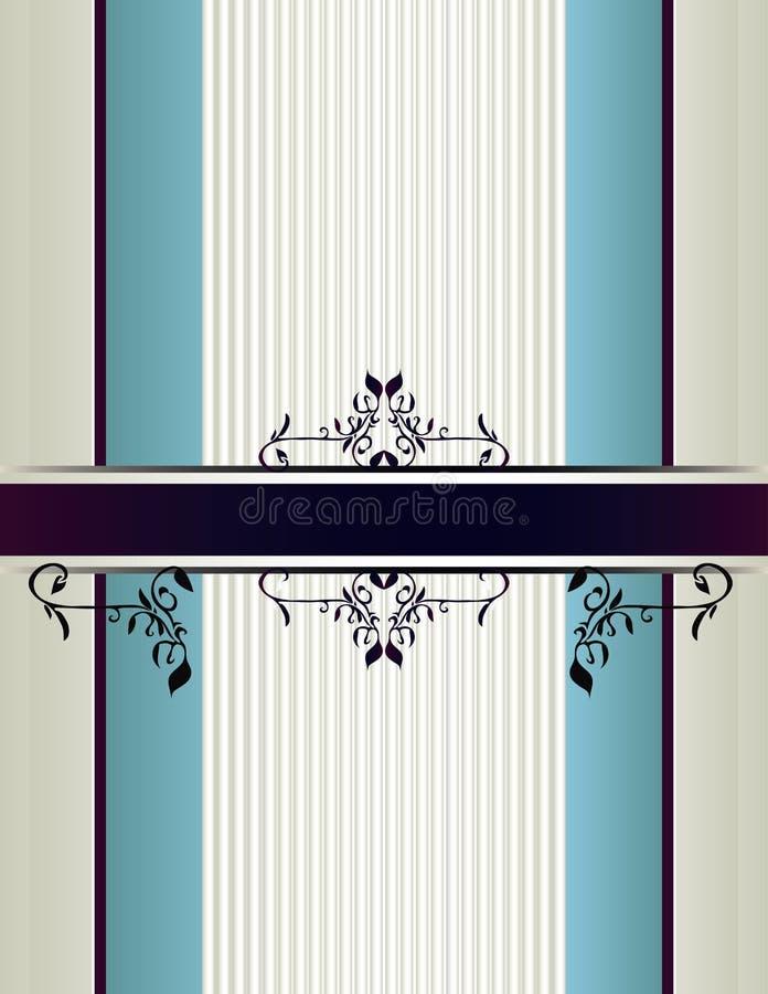 Cream blue purple background 1 stock illustration