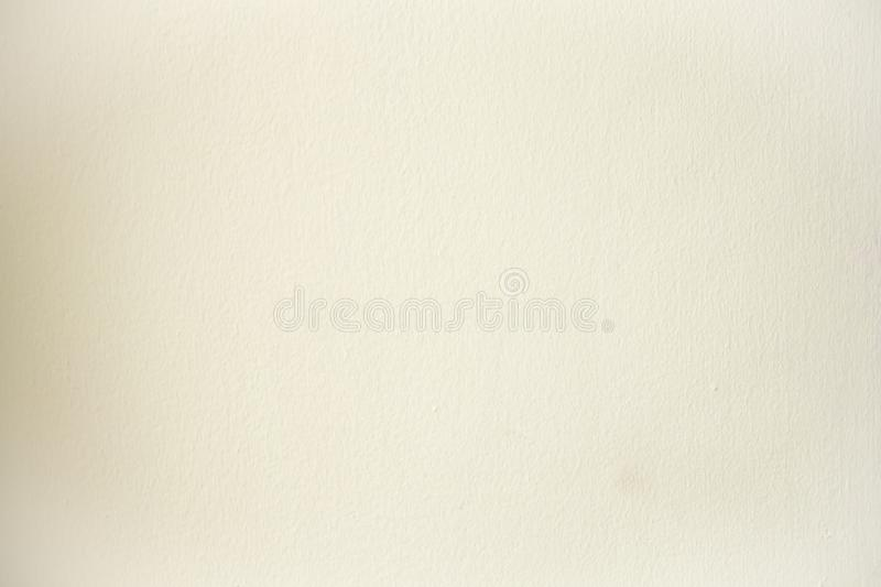 Cream cement wall for background, wallpaper,template and copy space.cream color wall. image for background, stock image