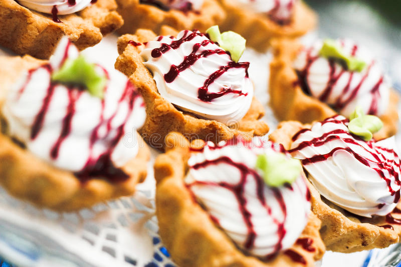 Download Cream dessert #2 stock photo. Image of confectionery - 12491286