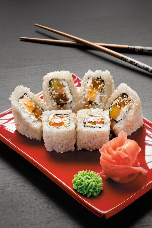 Download Cream eel. stock image. Image of plate, japan, cream - 16004999