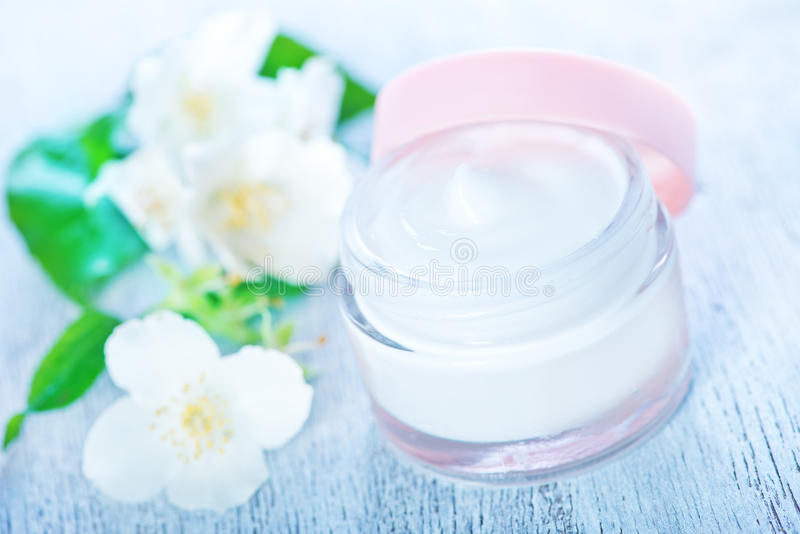 Cream for face royalty free stock images