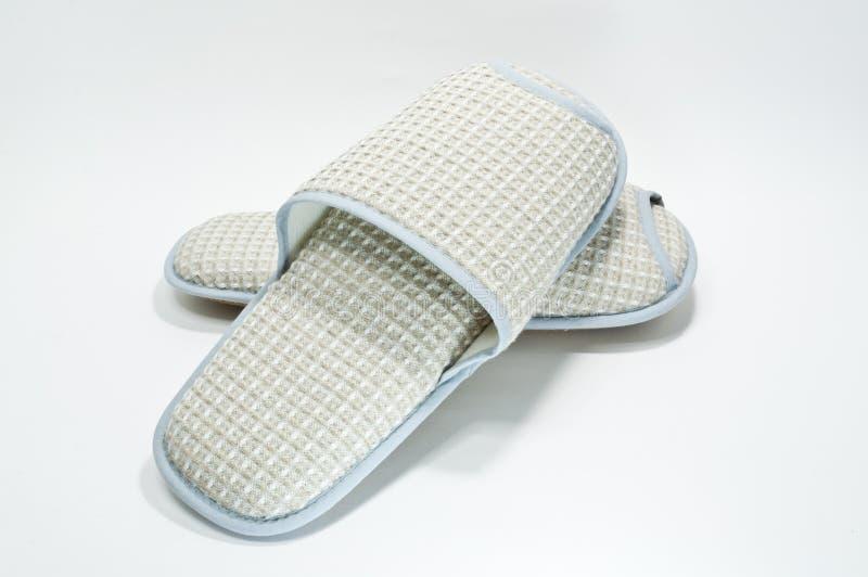 Download Cream Slippers stock photo. Image of cozy, interior, care - 25856980