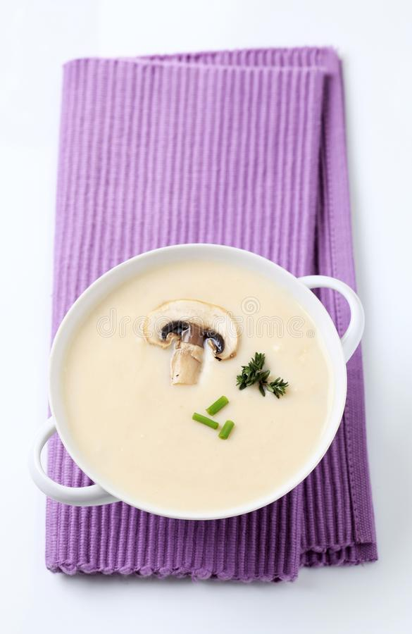Cream soup royalty free stock images