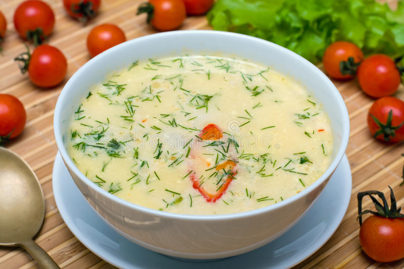 Cream Soup Royalty Free Stock Photography