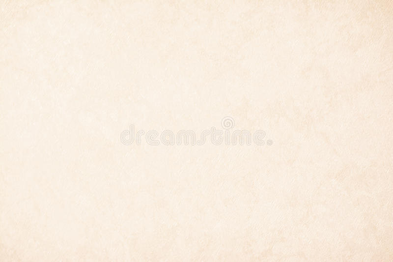 Cream texture background paper in beige vintage color, parchment paper, abstract pastel gold gradient with brown, solid stock image
