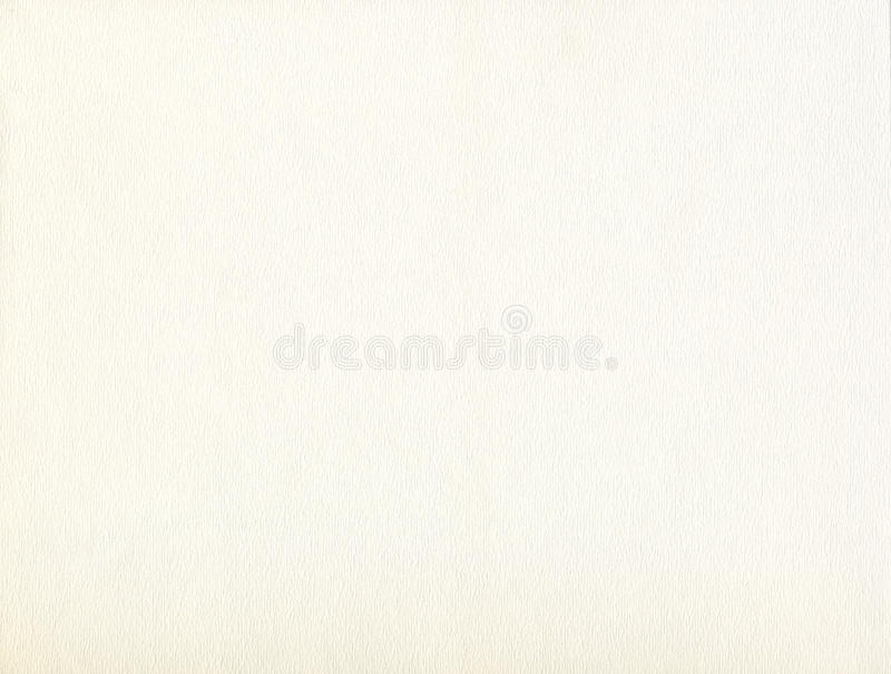Download Cream Watercolor Textured Paper Stock Image