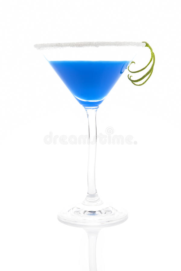 Download Creamy blue cocktail. stock photo. Image of decoration - 20608226