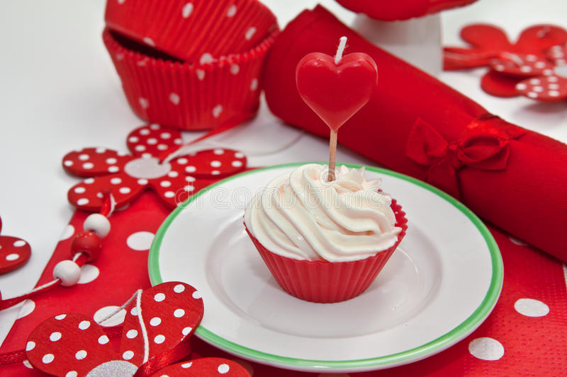 Creamy Cupcakes. Creamy Cupcake for a colorful celebration royalty free stock photo