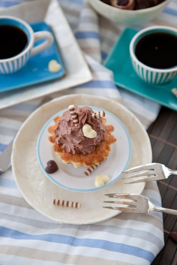 Creamy Cupcakes Stock Image