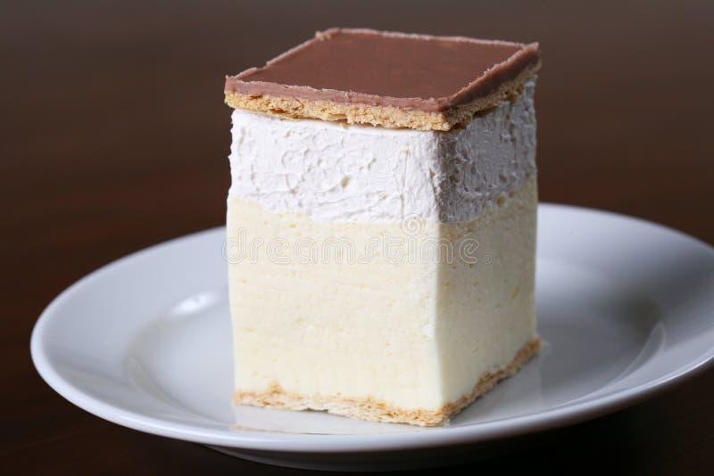 Creamy dessert royalty free stock photos