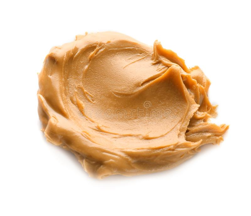 Creamy peanut butter stock photography