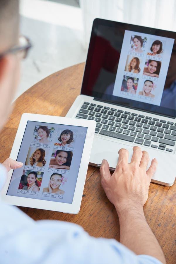 Creare interfaccia fotografia stock libera da diritti