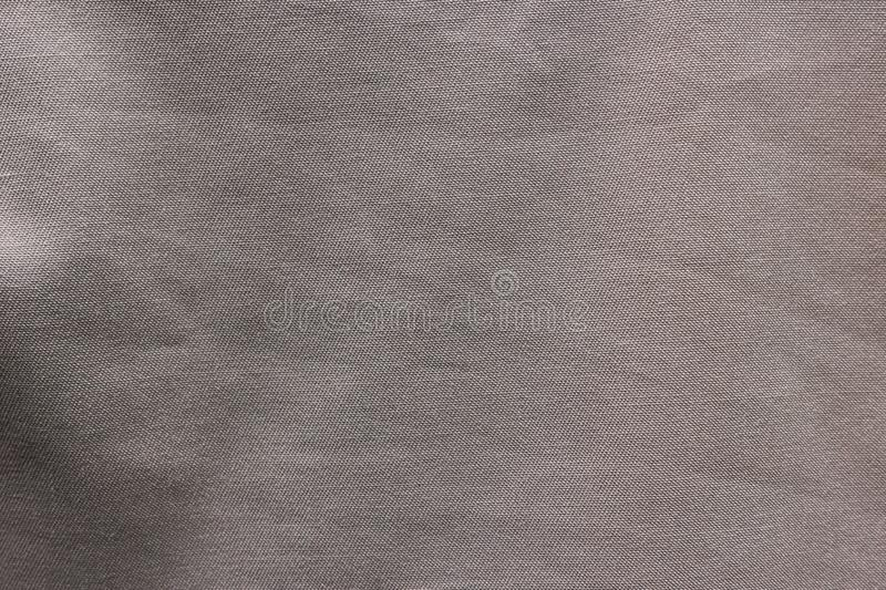 Crease on gray fabric. Texture of crease on gray fabric royalty free stock photos