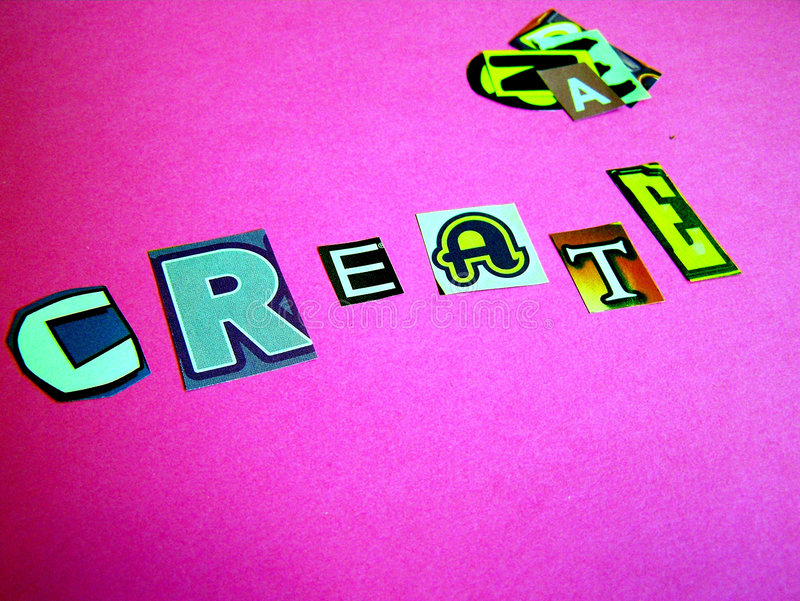 Download Create stock image. Image of craft, word, crafts, create - 6466899