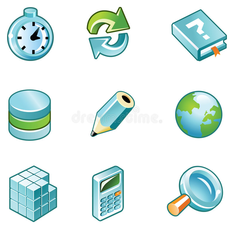Download Create-icons stock vector. Illustration of graphics, points - 5420888