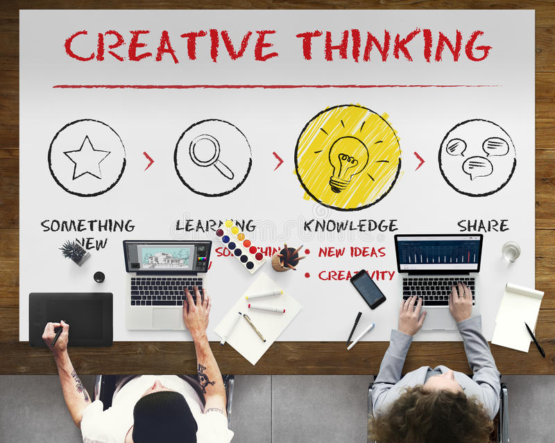 Create Imagination Innovation Inspiration Ideas Concept royalty free stock photography