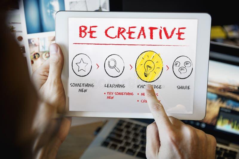 Create Imagination Innovation Inspiration Ideas Concept. Create Imagination Innovation Ideas Concept stock photos