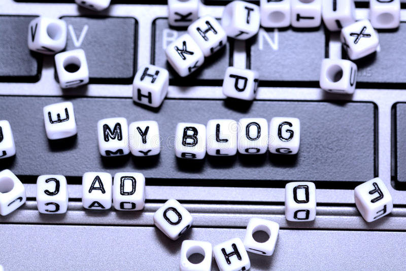 Create your blog and start writing to communicate with the world stock photos