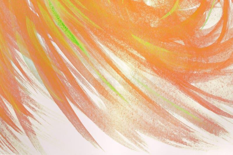 Creatief abstract hand geschilderd behang als achtergrond, textuur Abstracte samenstelling voor ontwerpelementen Abstracte kunsta vector illustratie