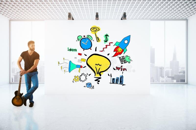 Creatief bedrijfsconcept royalty-vrije illustratie