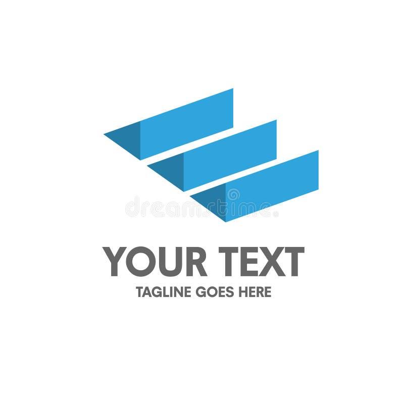 Creatief brievene embleem stock illustratie