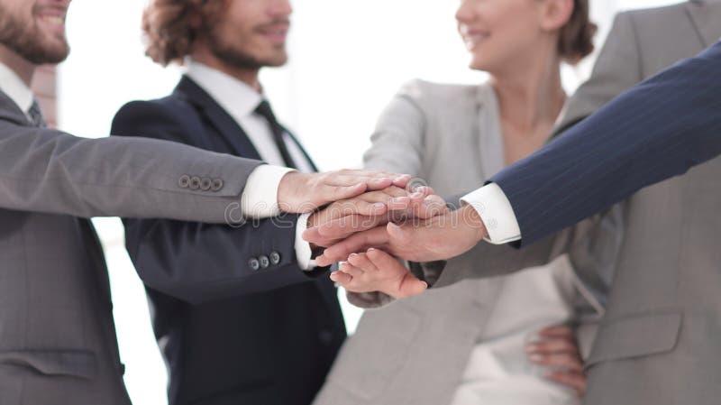 Creatief commercieel team Het concept groepswerk stock afbeelding