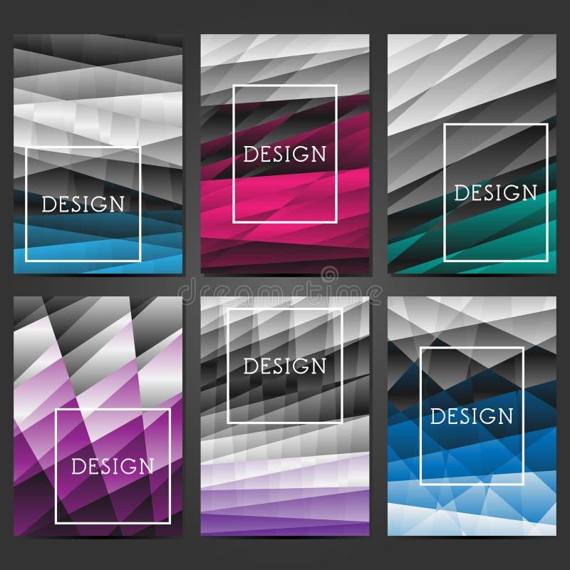 Creatief dekkingsontwerp Abstracte moderne achtergronden Kleurrijke gradi?nten Lay-out voor banners, affiches, vliegers, uitnodig royalty-vrije illustratie