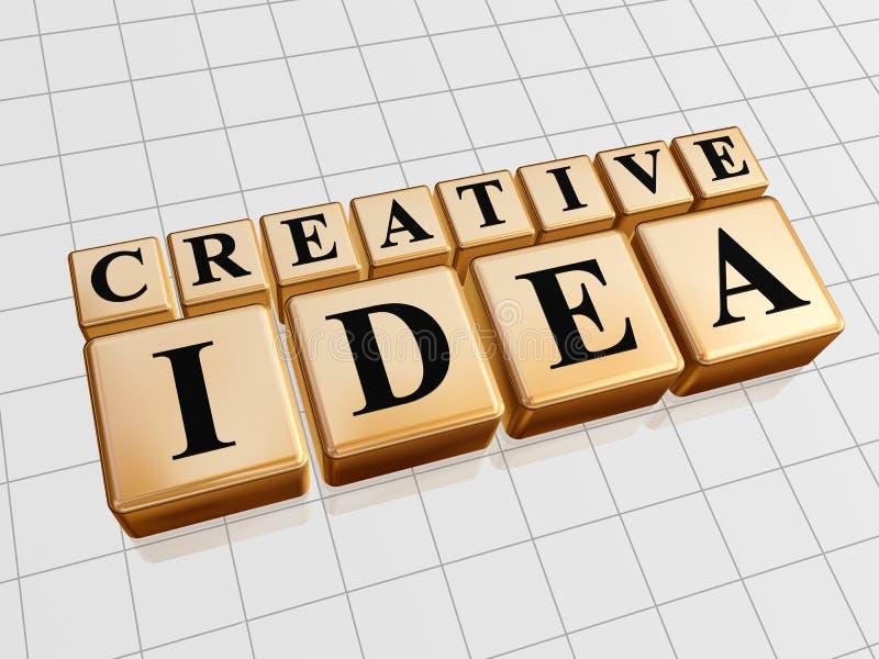 Creatief idee vector illustratie