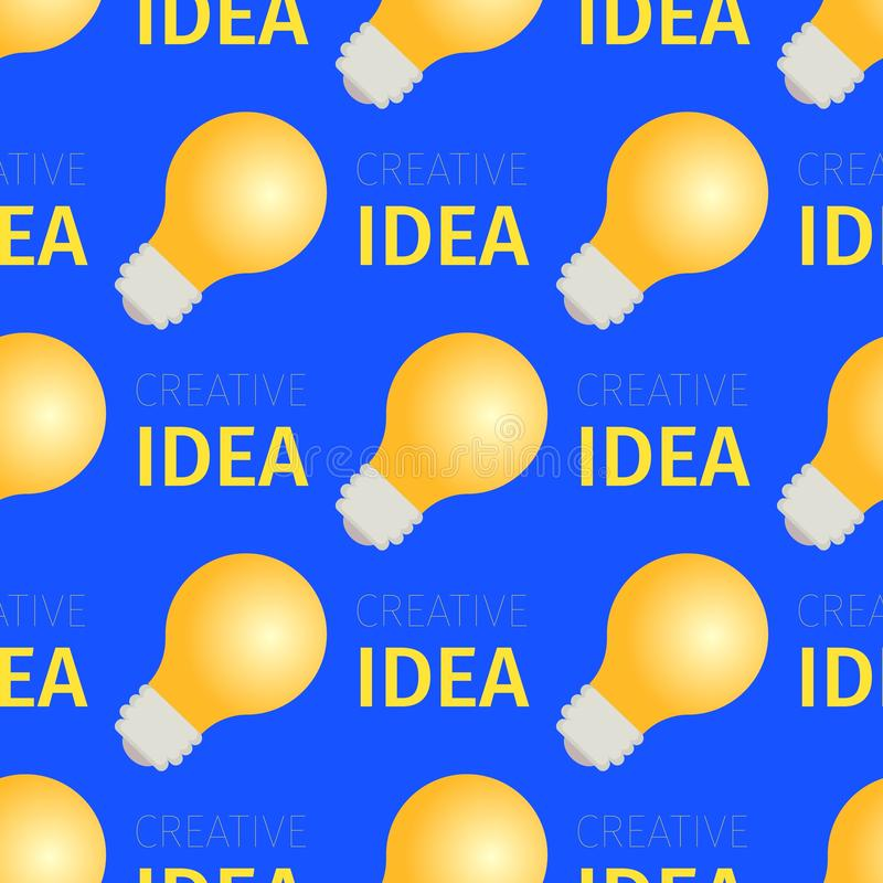 Creatief Idee Naadloos Patroon van het Branden van Bollen royalty-vrije illustratie