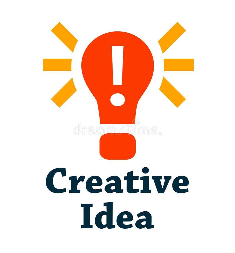 Creatief ideepictogram vector illustratie